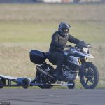 Mission Impossible 7: Tom Cruise Spotted Pulling Wheelies on a BMW G 310 GS 3