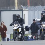 Mission Impossible 7: Tom Cruise Spotted Pulling Wheelies on a BMW G 310 GS 4
