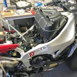 Yamaha R1 goes to the North Pole. Winter adventure ride preparations 10