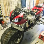 Yamaha R1 goes to the North Pole. Winter adventure ride preparations 11