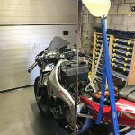Yamaha R1 goes to the North Pole. Winter adventure ride preparations 13