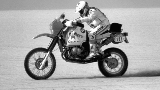 A Brief History of the BMW R80 GS 5a 1984Paris Dakar Rahier