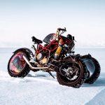 Insane 3-Wheeled Ducati Hypermotard 1100. Custom Made Bike by Balamutti 9