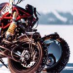 Insane 3-Wheeled Ducati Hypermotard 1100. Custom Made Bike by Balamutti 2