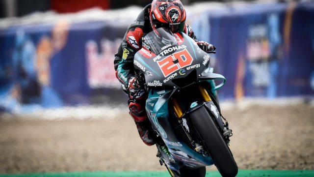 Fabio Quartararo Petronas Yamaha Jerez Spanish GP MotoGP scaled