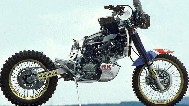 Honda NXR 750 01