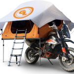 Meet the World's First Motorcycle Roof Tent 2