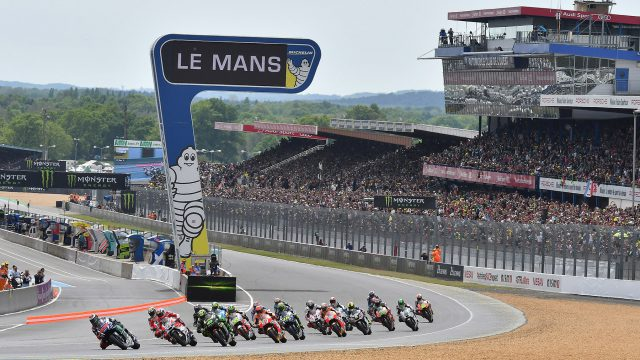 MotoGP direction Le Mans France