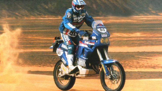 Peterhansel 1991 in Action
