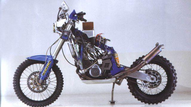 YZE 750 T 1991   gestrippe