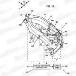 Yamaha carbon fibre frame patent leaked 3