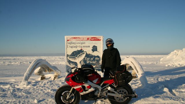 Yamaha R1 goes to the North Pole. Winter adventure ride preparations 2