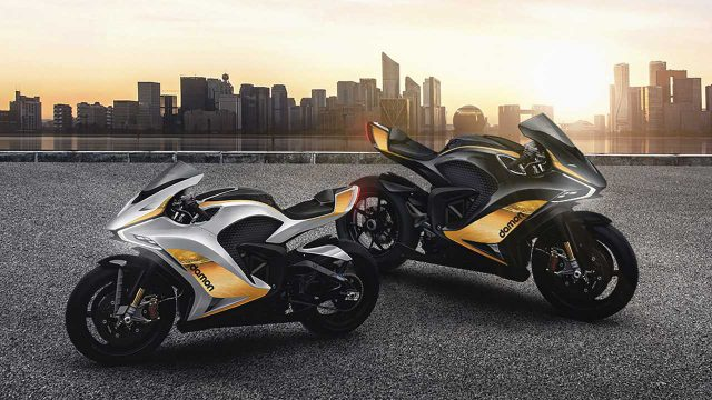 Damon Electric Motorcycles Unveils Two New Hypersport Models 1