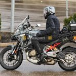 Ducati Multistrada V4 Spotted on the road. Spy Shots leaked 4