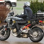 Ducati Multistrada V4 Spotted on the road. Spy Shots leaked 5