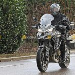 Ducati Multistrada V4 Spotted on the road. Spy Shots leaked 12