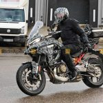 Ducati Multistrada V4 Spotted on the road. Spy Shots leaked 2