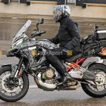 Ducati Multistrada V4 Spotted on the road. Spy Shots leaked 3