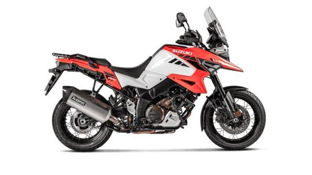Suzuki V-Strom 1050 Receives an Akrapovic Exhaust 1