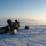 Yamaha R1 goes to the North Pole. Winter adventure ride preparations 5