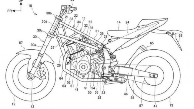 Honda to develop a sport-touring bike based on the CRF 1100L engine 3