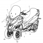 Piaggio Issues Active Aerodynamic Patent. MotoGP Winglets for Scooters 3