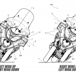 Piaggio Issues Active Aerodynamic Patent. MotoGP Winglets for Scooters 5