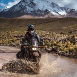 Couple Takes an Adventure Trip Through South America on DR 650 12