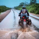 Couple Takes an Adventure Trip Through South America on DR 650 18
