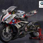 BMW M1000RR. Electric Supercharged Bike Design 5