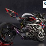 BMW M1000RR. Electric Supercharged Bike Design 7
