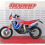 This old Honda Africa Twin was Transformed to a Rally Beast 17