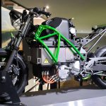 Kawasaki Teases Manual Gearbox for their First Electric Bike 4