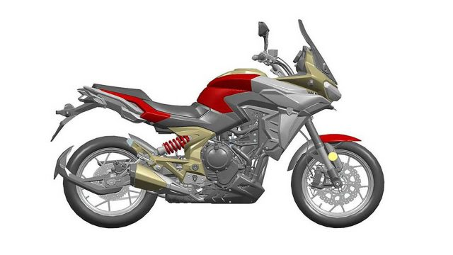 2021 zongshen cyclone rx6 design patent