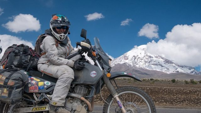 Couple Takes an Adventure Trip Through South America on DR 650 10