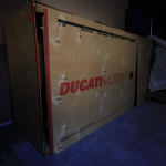 Forgotten new Ducati 996 R Found Abandoned in the Factory Box 2