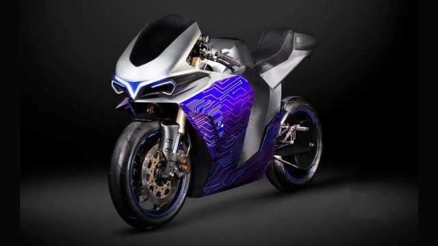 Electric Motorcycle with Switchable Engine Configuration 1