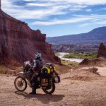Couple Takes an Adventure Trip Through South America on DR 650 34