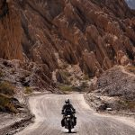 Couple Takes an Adventure Trip Through South America on DR 650 41