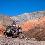Couple Takes an Adventure Trip Through South America on DR 650 55