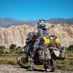 Couple Takes an Adventure Trip Through South America on DR 650 69