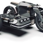 Electric BMW Sidecar Concept. One Design Rendering of a Possible Future 3