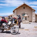Couple Takes an Adventure Trip Through South America on DR 650 65