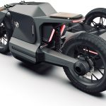 Electric BMW Sidecar Concept. One Design Rendering of a Possible Future 6