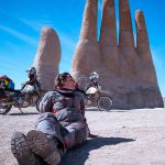 Couple Takes an Adventure Trip Through South America on DR 650 11