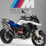 The 160 hp BMW M1300GS. Fancy one of these? 2