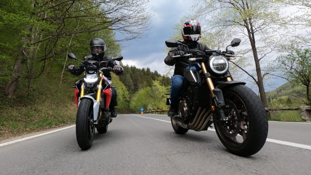 BMW F900R vs. Honda CB650R - Review 2