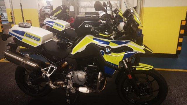 London Police Scorpion Squad Receives BMW F750GS 1