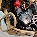 Military Custom Kawasaki KLR650 Converted to Run on Diesel Fuel 3