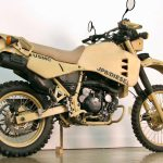 Military Custom Kawasaki KLR650 Converted to Run on Diesel Fuel 2